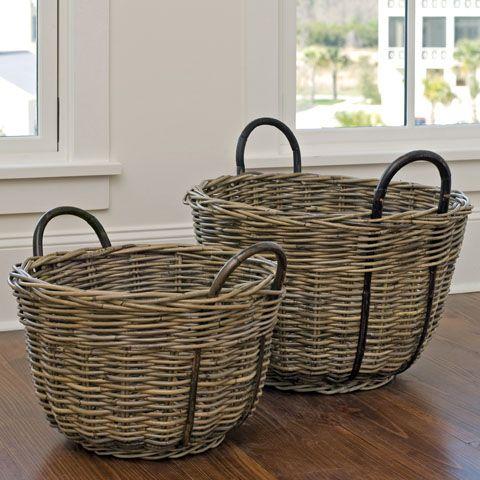 Kubu Round Baskets www.domainmtp.com