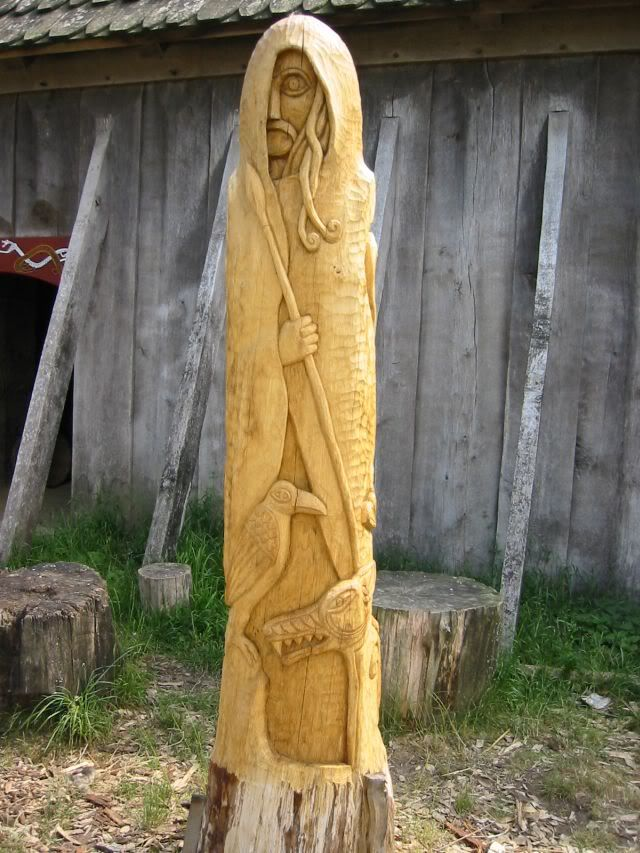 """WODEN is the germanic name ot Odin. The mtyhology of the Swedes,Danes, Jutes, Gots, Angli, Suebi, Vendels and other north european people, was virtually identical. With the brutally enforced """"conversion"""" to Christianity, european people have lost their many millenia old heritage... up to this day! And it is still falsified by """"historians"""" an TV series (like that """"Vikings"""" shithead junk)!!!"""