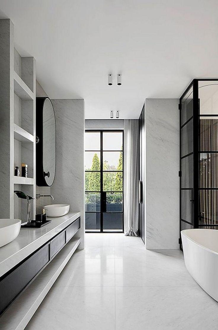 90+ fabuleuses idées de salles de bains scandinaves ...