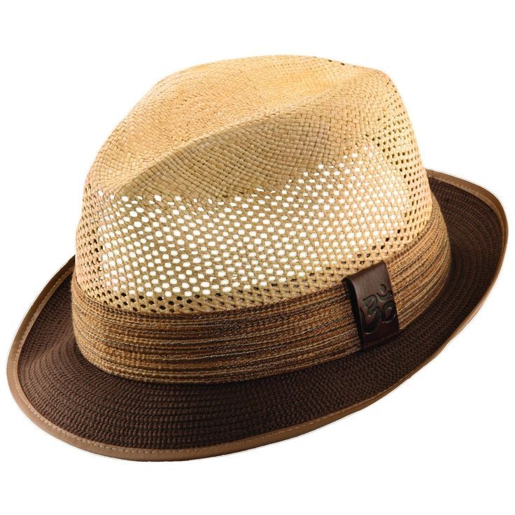 Carlos Santana Devadip Panama Straw Fedora Hat