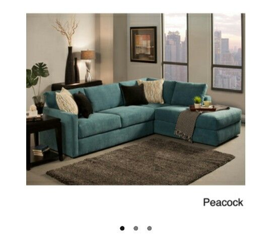Turquoise Sectional Decor Furniture Pinterest Turquoise