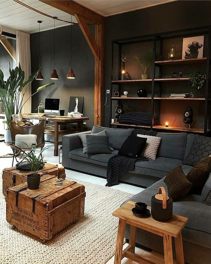 45 Great Decorating Ideas For Living Room 19 Decorating Great Ideas Living Livin Farm House Living Room Living Room Designs Interior Design Living Room