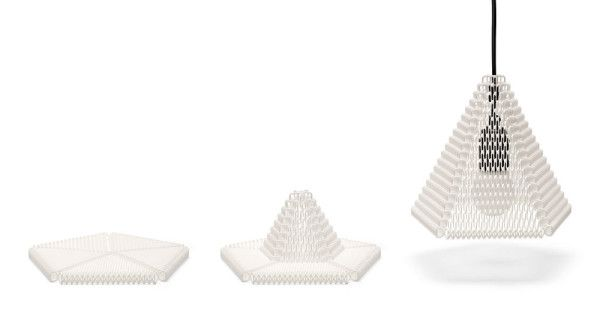 3D Printed Lampshades by Michiel Cornelissen in home furnishings  Category