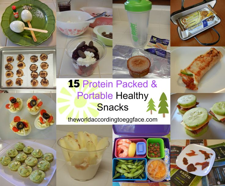 15 Protein Packed and Portable Snacks (or Mini Meals) - Bariatric Surgery Weight Loss Fitness Health