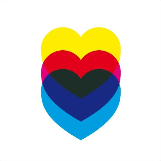 This is another picture of our inspiration for logo: although we don't like the hearts, it's the exact colors and right amount of pink. We also like the way they are stacked on top of each other: we would like the W,W,P in our logo to be like this.