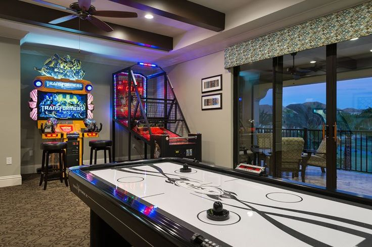 11 best images about game rooms on pinterest arcade for Game room pics