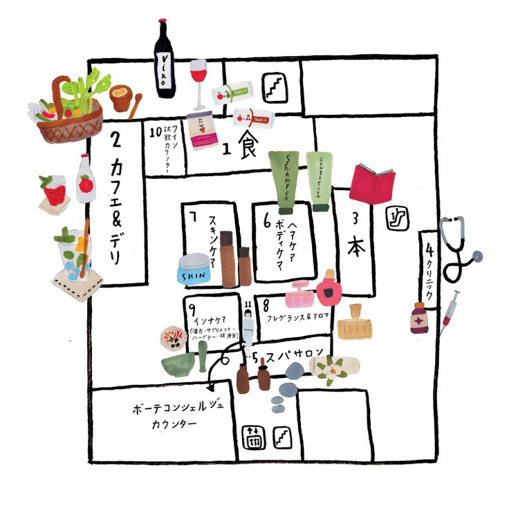 Tokyo illustrations by Grace Lee