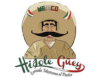 "Check out new work on my @Behance portfolio: ""Restaurante Hijole Güey""…"