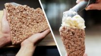 This Is How You Cocoa Krispie An Ice Cream Cone