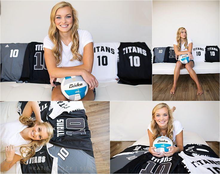 01 Indoor volleyball senior pictures