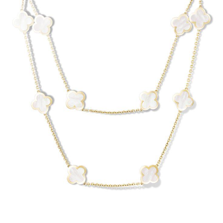 Van Cleef & Arpels - Alhambra long necklace, 14 motifs