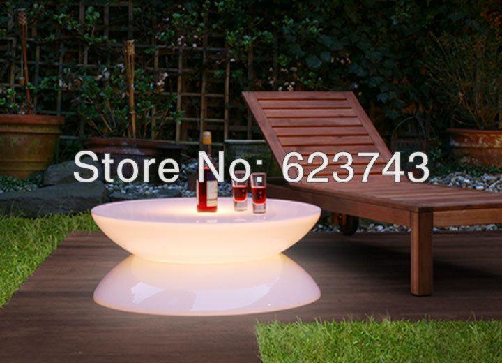 Free Verschiffen Led Leuchtmöbel, Lounge Geführt, Wasserdichte Led Tisch,  Führte Couchtisch Wiederaufladbare Für