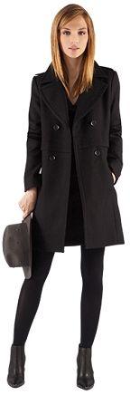 Manteau officier | Blousons et manteaux | Comptoir des Cotonniers