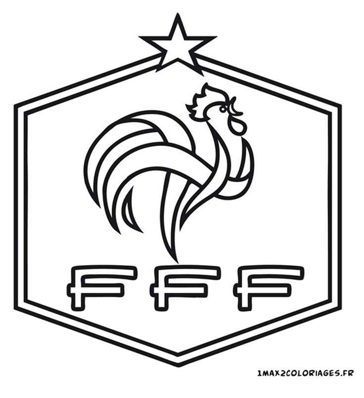 1000 Images About Coloriage Foot On Pinterest Logos Frances O