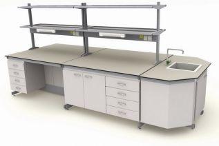 Лабораторный стол цена производителя. Столы лабораторные металлические - серии Евро Эксперт