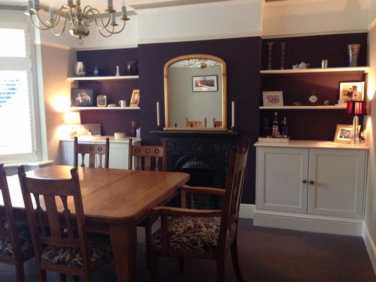 Farrow And Ball Pelt Shows Off My Mirror Beautiful Newly Refurbished Chairs ChairsLiving Room IdeasDining
