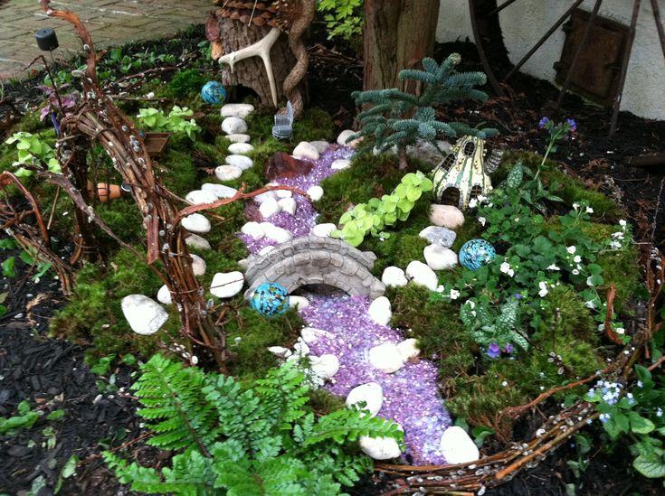 How To Build A Fairy Garden | Outdoor Fairy Garden- Go Wild! | The Garden Diaries