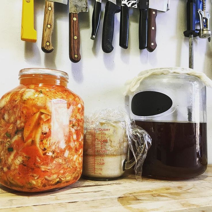 """kombuchaguru: """"http://ift.tt/1WTdUzQ I'm currently fermenting 3 different things in my house right now - #kimchi and a sour dough starter for making fresh bread! Fermenting foods and drinks can be a tricky process and you can guarantee plenty of..."""