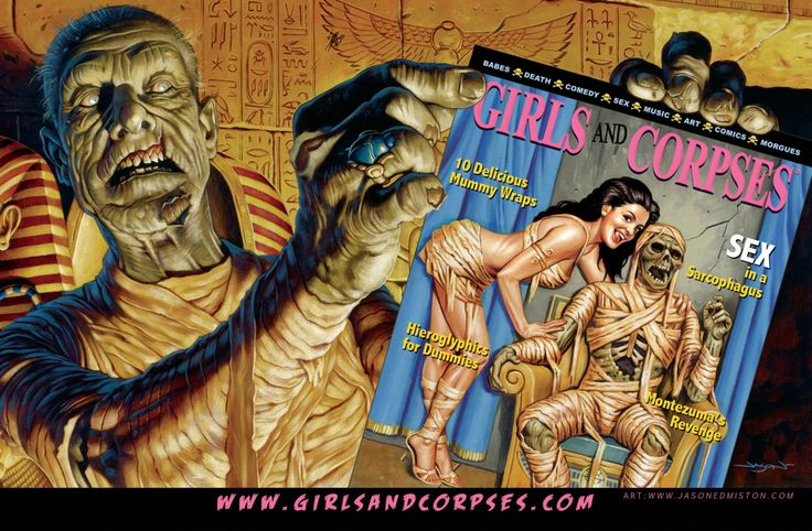 Girls and Corpses Ad by jasonedmiston on @DeviantArt