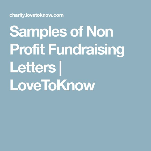 how to write a fundraising letter example