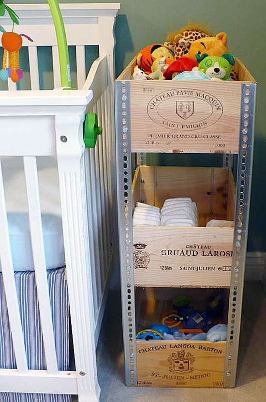 Nursery Crate Caddy