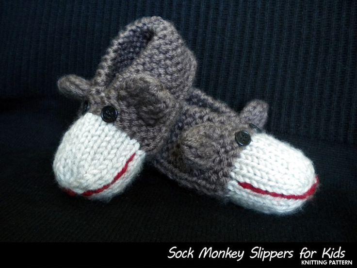 Kids Socks Knitting Pattern : 59 best images about tricot pantoufle on Pinterest Free pattern, Shoe size ...