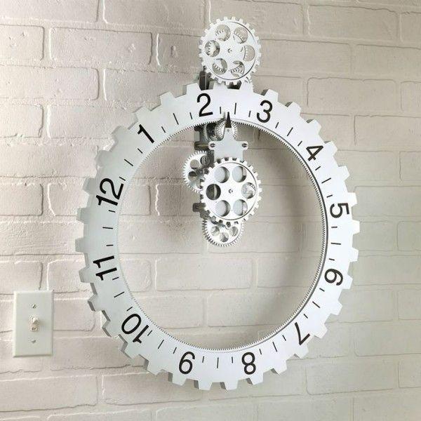 Best 20+ Diy wall clocks ideas on Pinterest | Industrial design ...