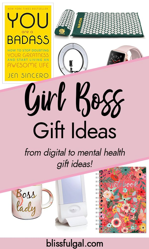 Gift Ideas for the Female Entrepreneur | Boss lady gifts ...