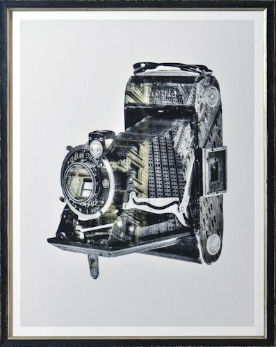 "Celadon Vintage Camera - a superior collection of framed prints and mirrors representing all decorative styles: contemporary, country, floral, traditional, etc. From the ""abstract"" to the whimsical and everything in between."