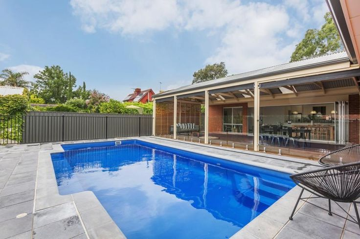 Pool and open entertaining area with living space relax - 19 Ruthven Avenue, Magill