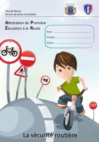 La sécurité routière - (CDDP) Val Read more about persan, municipale, passage, circulation, exercice and chapitre.