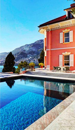 Villa on the French Riviera