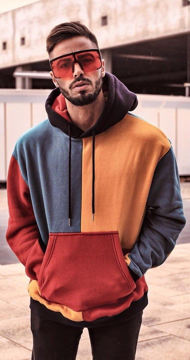 Street Style Fashion 20 Cool Hoodie Outfits For Men To Try In 2019 Hoodie Outfit Men Hoodies Men Style Hoodie Outfit [ 1236 x 653 Pixel ]