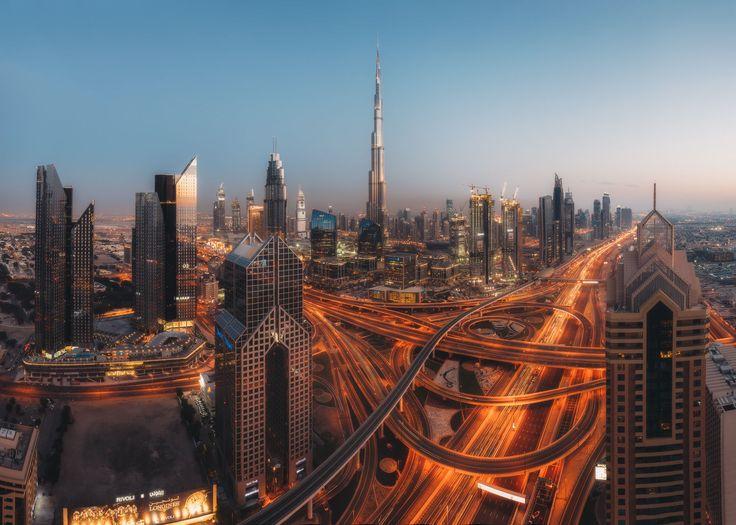 City of Future by Federico Penta on 500px . Dubai