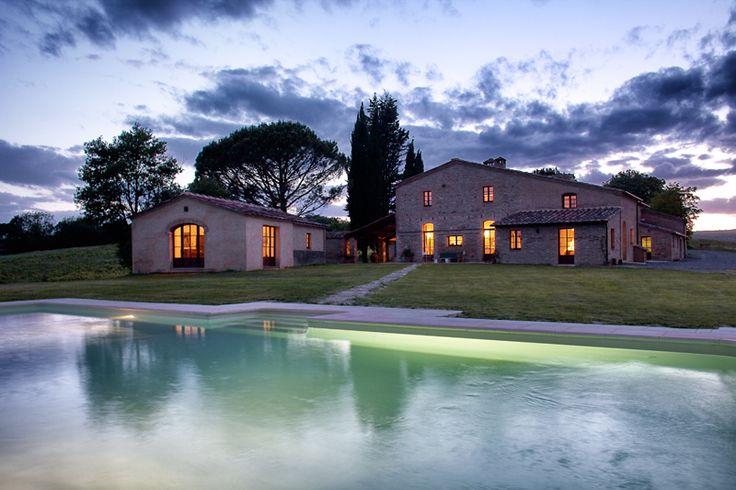 Rentable holiday villa in Tuscany