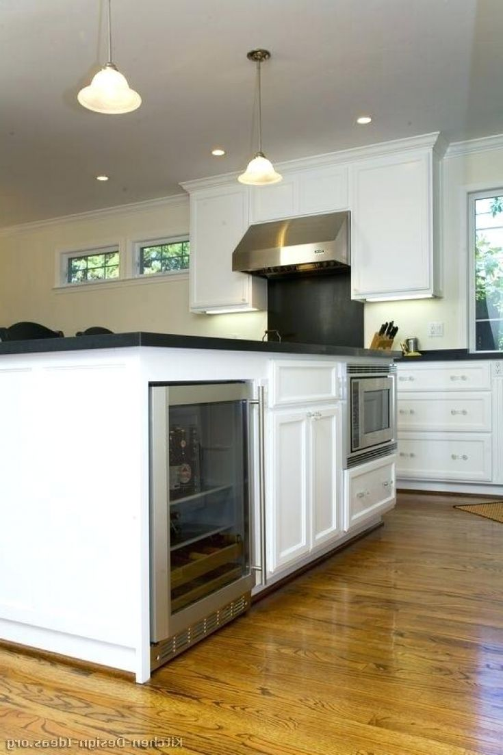 Fresh Kitchen Island With Wine Fridge Kitchen Design Photo Kitchen Design Kitchen Design Diy Kitchen Remodel Small