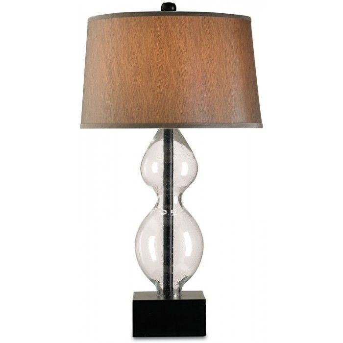wooden shade table lamp blown glass base with a wood shade great rustic tabl. Black Bedroom Furniture Sets. Home Design Ideas