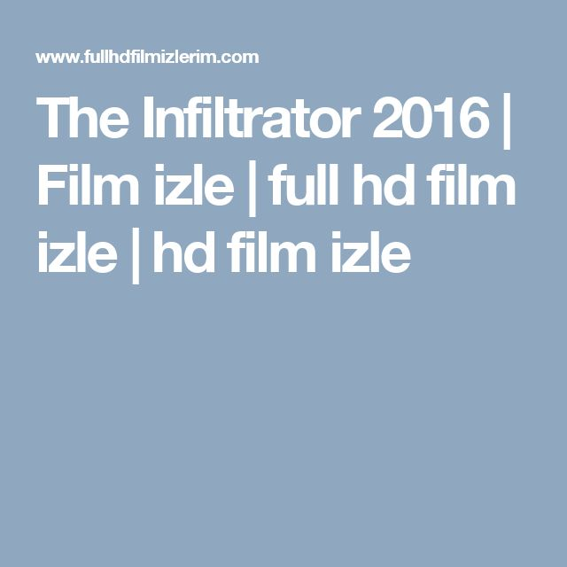 The Infiltrator 2016 | Film izle | full hd film izle | hd film izle