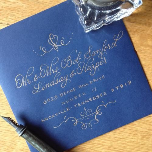 17 Best Ideas About Calligraphy Envelope On Pinterest