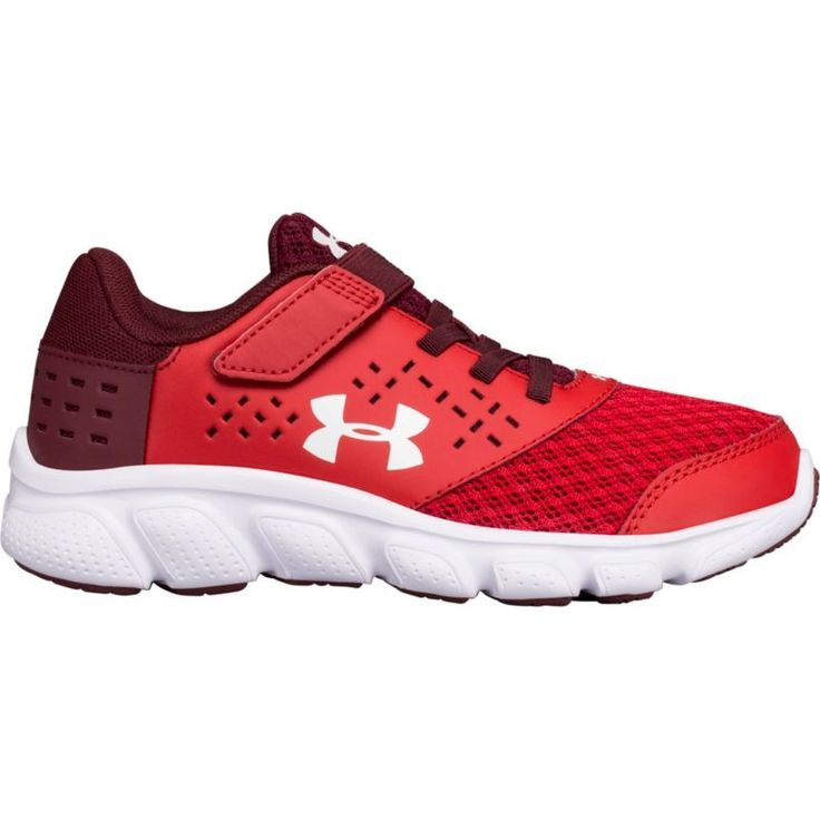 Under Armour Kids' Preschool Rave RN AC Running Shoes, Girl's, Red