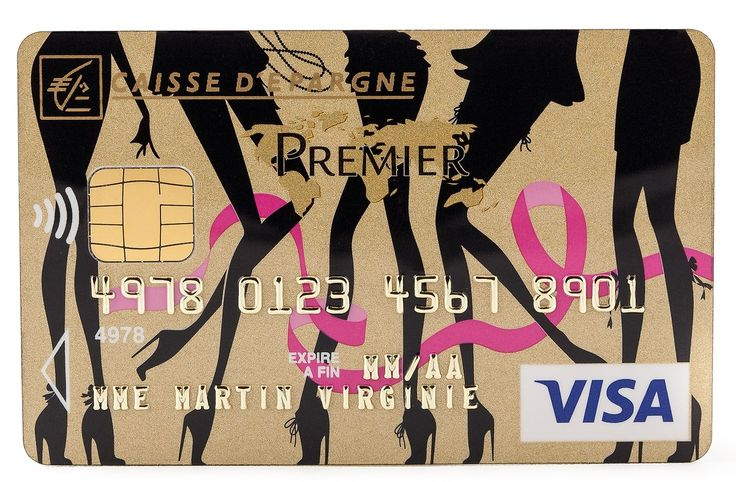 Chantal Thomass et la Caisse d'Epargne s'associent pour soutenir la lutte contre le cancer du sein en lançant une série limitée de cartes bancaires