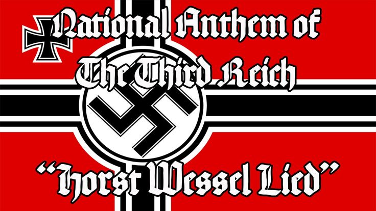 """National Anthem of the Third Reich """"Horst Wessel Lied"""""""