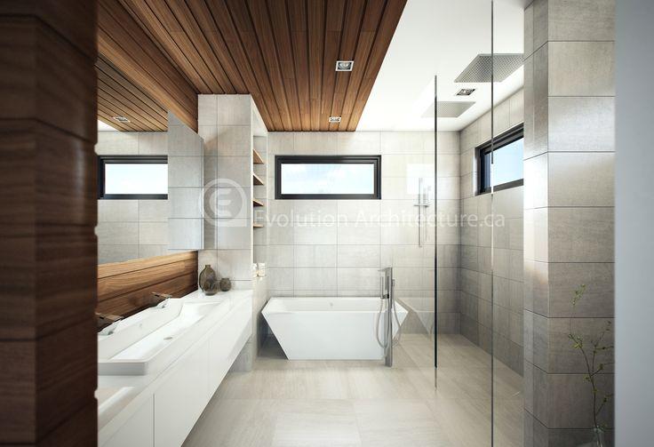 Evolution Architecture,salle de bain contemporaine,design intérieur exclusif E-740