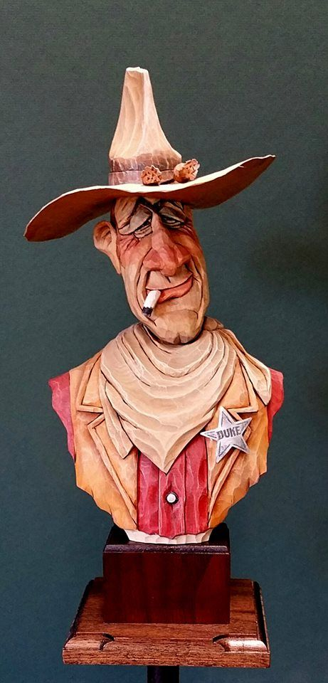 Best john wayne caricature collection images on