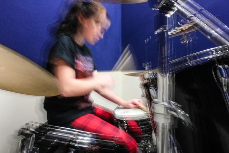Motion drumming