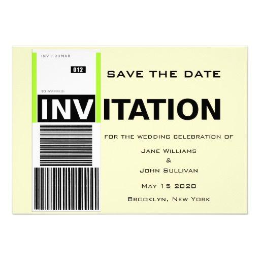 Flughafen-Gepäck-Anspruchs-Thema, das Save the Personalisierte Ankündigungskarte