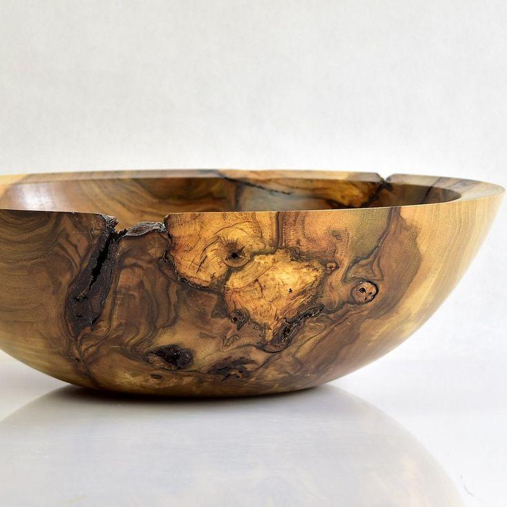 Piękna, orzechowa misa, 36 cm średnicy. Walnuss / Walnut  #zdrewna #miska #bowl #donitza #toczenie #woodturning #drechseln