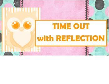 Owl Behavior Clothes Pin Chart