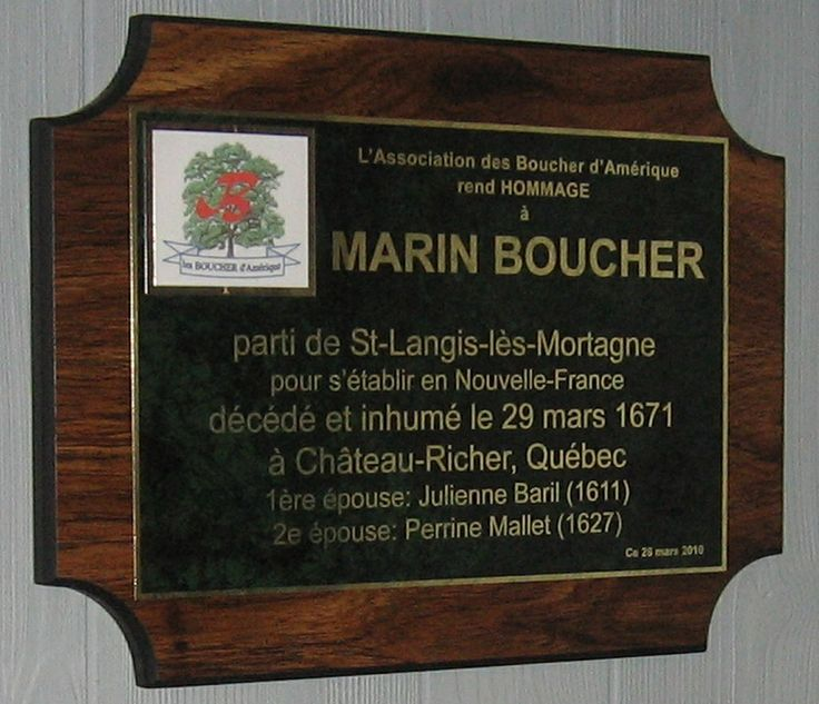 Plaque in his home  church in France.   He attended this church in his early life.