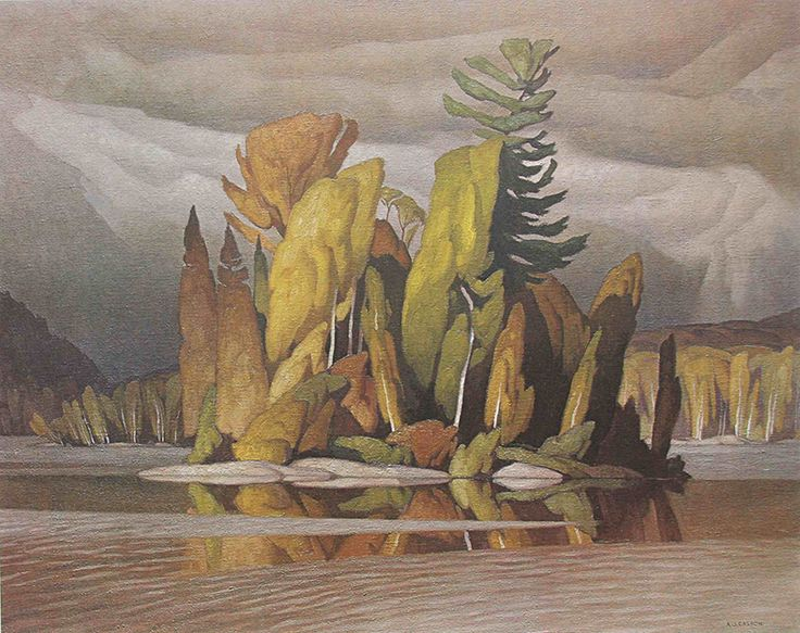 44 best easy intro painting projects images on pinterest visual little island 1965 aj casson may 17 1898 february 20 fandeluxe Choice Image